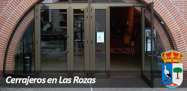 Cerrajeros Las Rozas seguridad en la puerta del portal